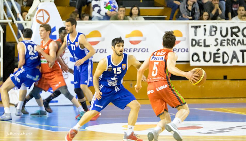 Fernando Boada, durant un duel de la temporada passada.