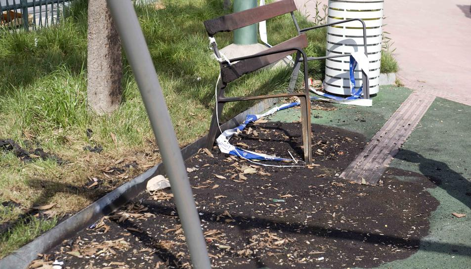 Els jocs del parc de Bonavista pateixen noves destrosses