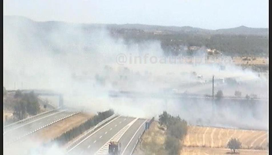 La demarcació de Tarragona està en un elevat risc d'incendis forestals
