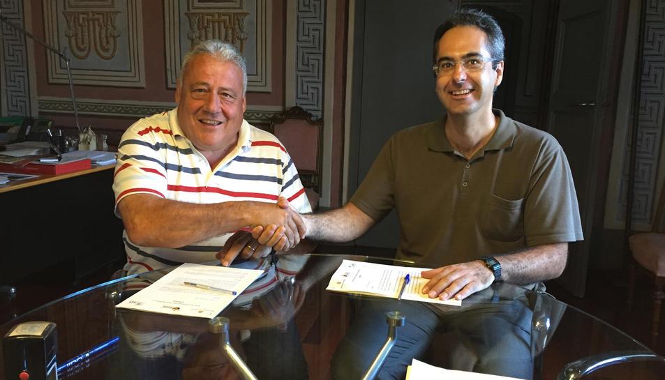 L'Associació Aurora es farà càrrec de la preservació del Francolí al Morell