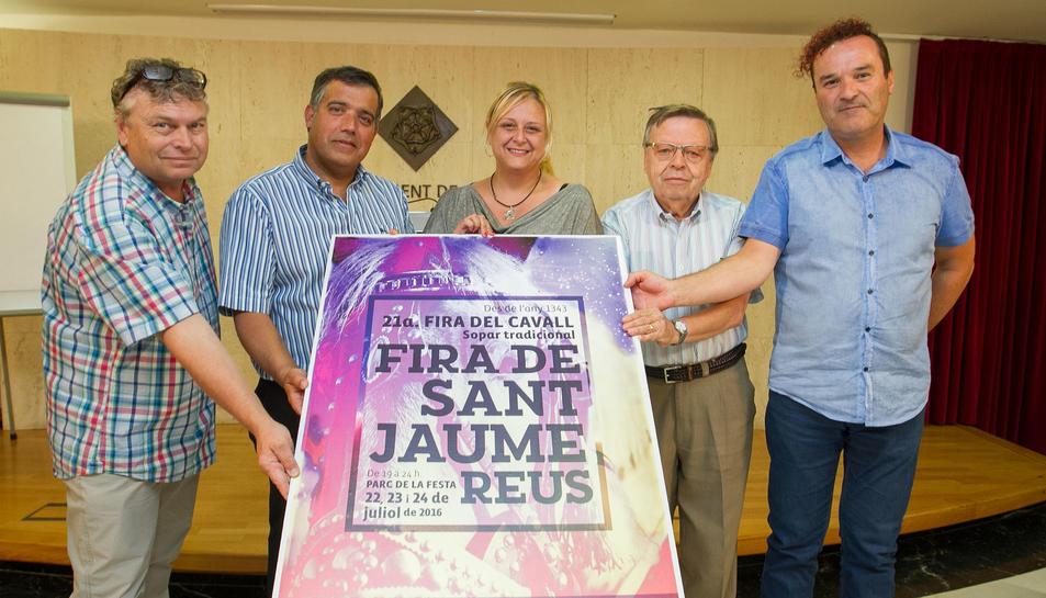 La Fira de Sant Jaume acollirà una competició de bàsquet a cavall