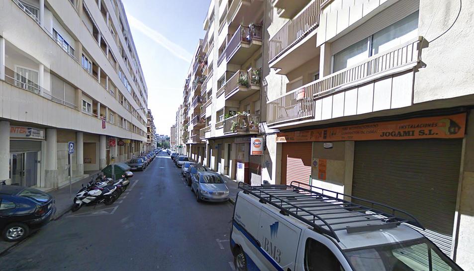 Imatge del carrer del Morell, on es va produir un dels registres.