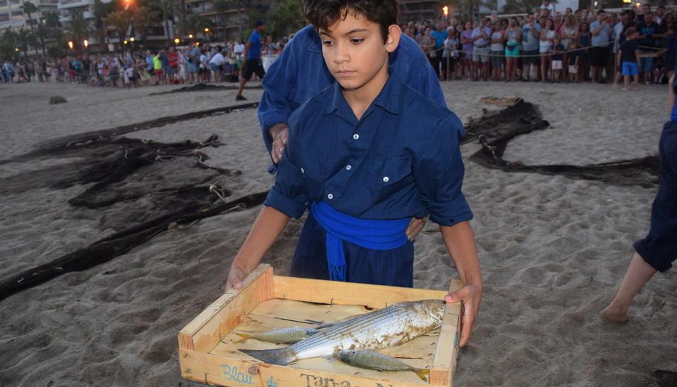 Salou pesca a l'antiga