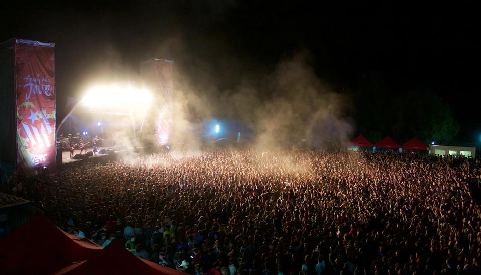 L'Acampada Jove tanca la seva 21ª edició amb 33.000 assistents