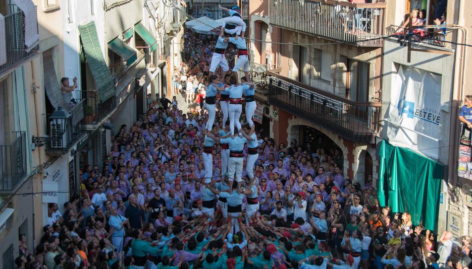 4de7 dels Nois de la Torre a la Diada del Quadre de Santa Rosalia.