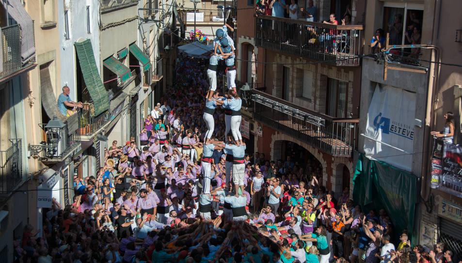 3de7 dels Nois de la Torre a la Diada del Quadre de Santa Rosalia.