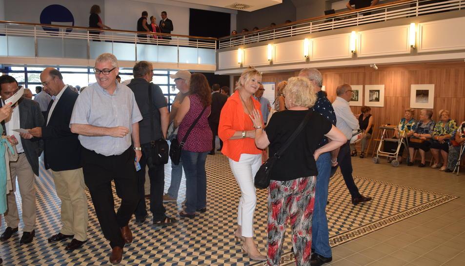 Imatge prèvia a la inauguració del teatre del pòsit.