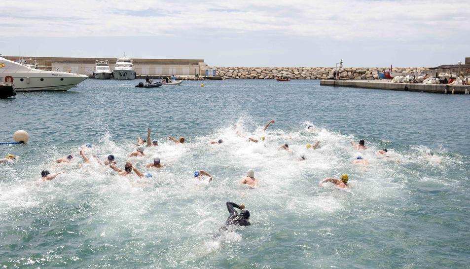 Els nedadors tenen cita a Torredembarra amb la Travessia Nedant