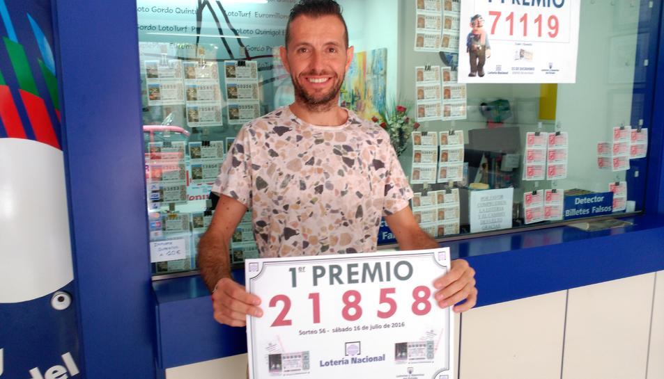 El primer premi de la Loteria Nacional deixa 600.000 euros a Cambrils