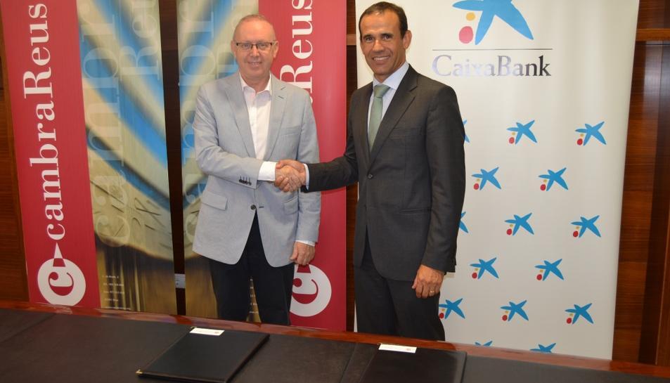 Cambra de Comerç de Reus i CaixaBank renoven el compromís de la internacionalització de les empreses