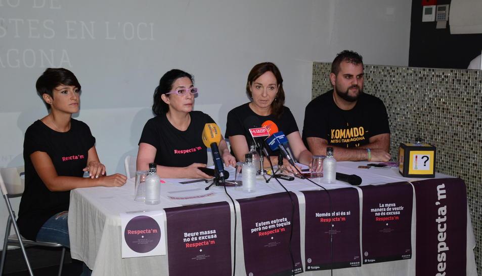 Tarragona engega una campanya per prevenir conductes sexistes de festa