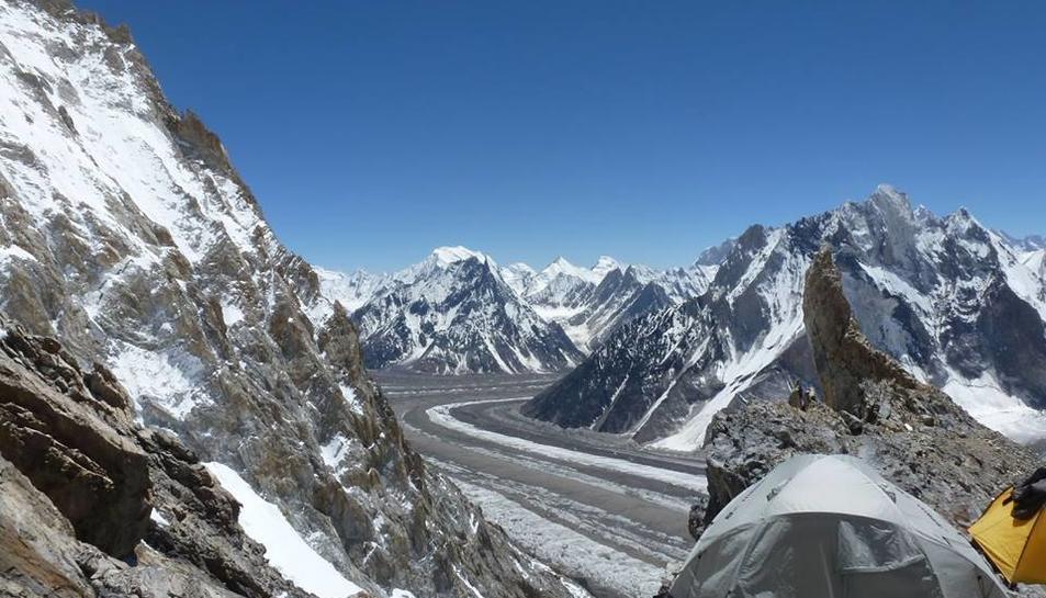 Òscar Cadiach preveu fer el cim del Broad Peak aquest dissabte o diumenge