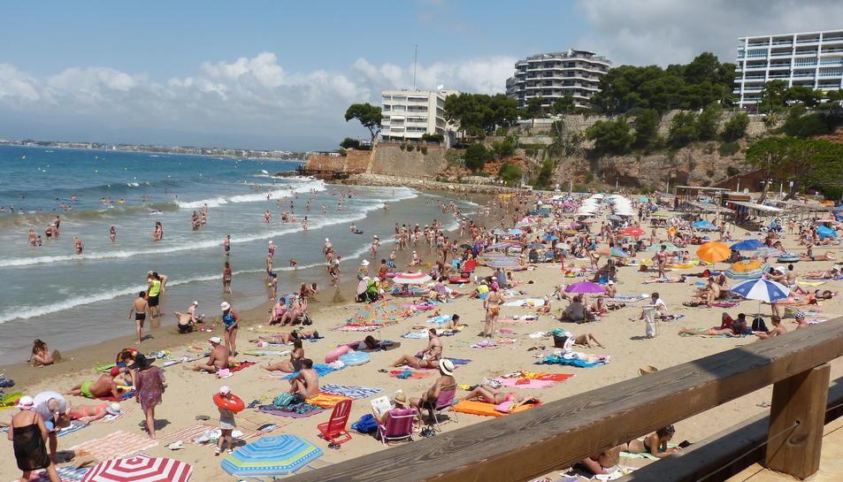 La platja dels Capellans disposarà aquest juliol de wifi públic.