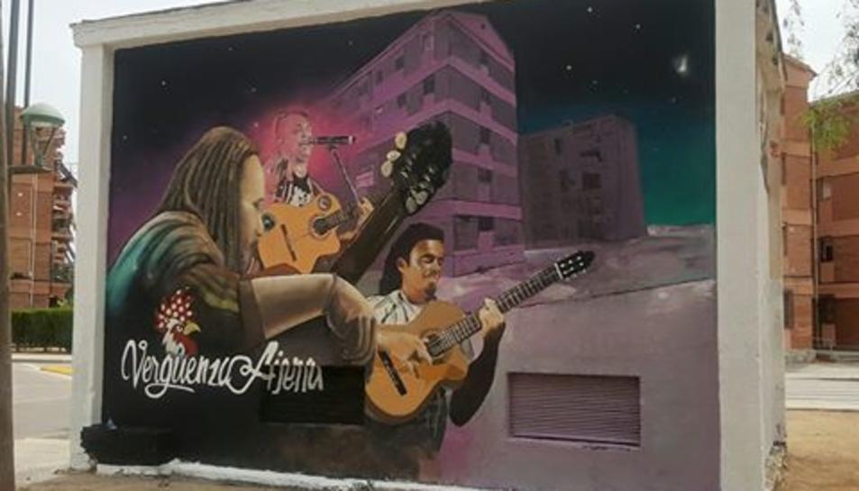 Imatge del mural.