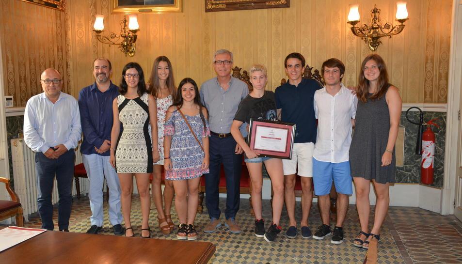 L'Ajuntament distingueix amb un diploma a Patricia Torres Ravés