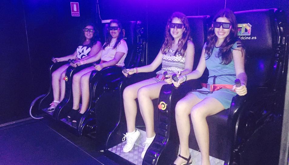 Cinema pels cinc sentits a la Fira Centre Comercial de Reus