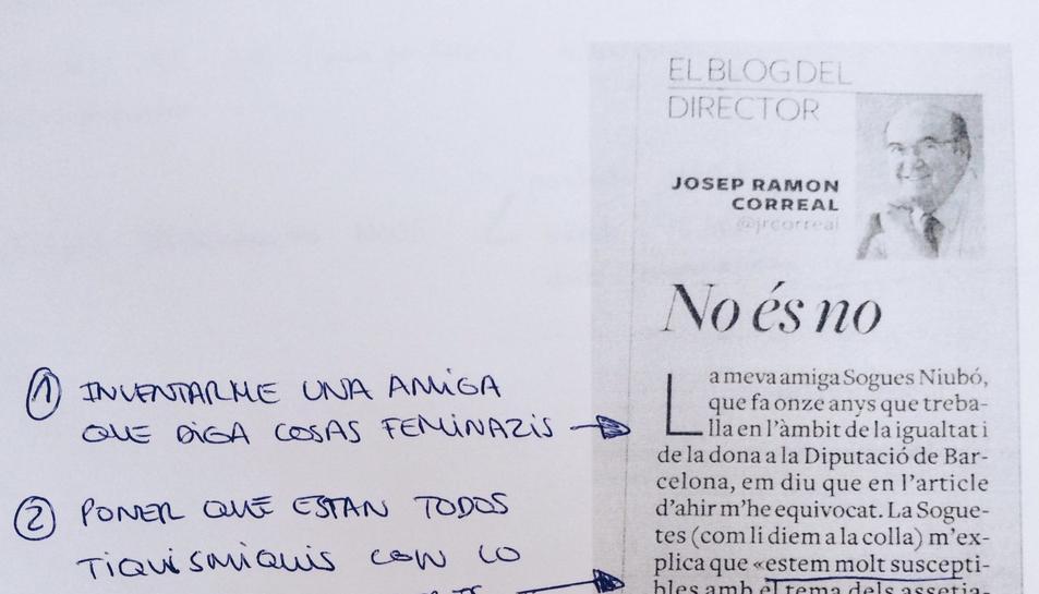 Un dels arxius de resposta a la rectificació del director de Diari de Tarragona.