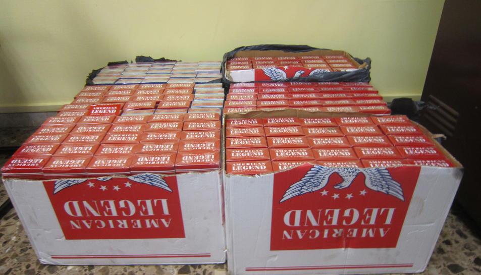 Intervenen 1.500 paquets de tabac de contraban al Port de Tarragona