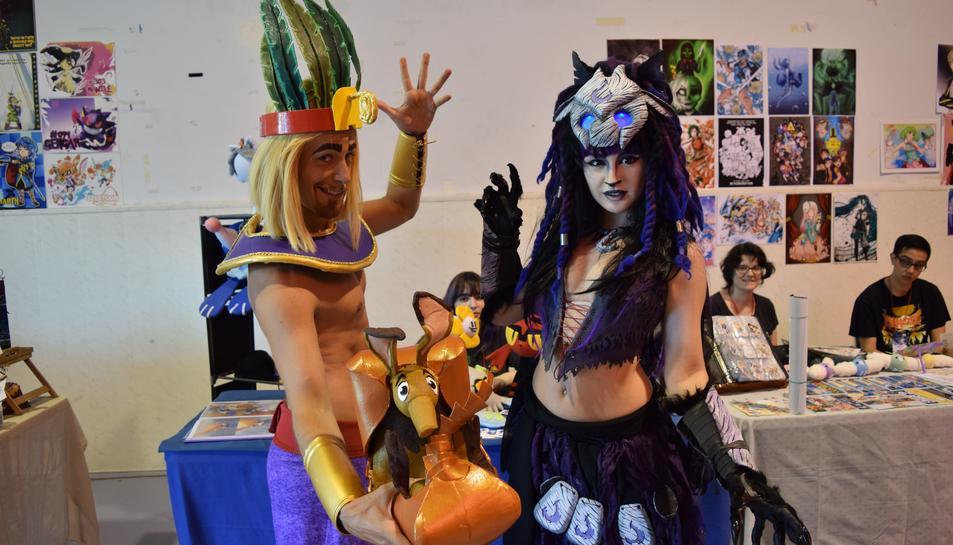 La cultura nipona  envaeix Tarragona  en la VI edició de l'Expotaku