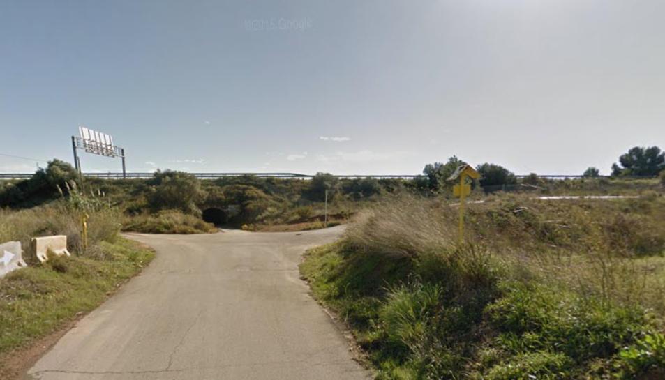 L'accident s'ha produït al camí Fondo de Vila-seca,