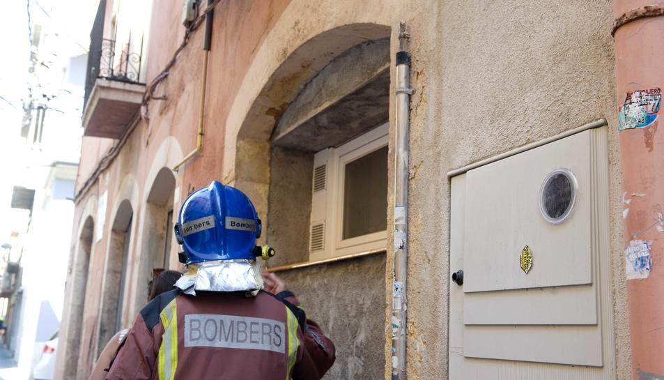 Un robatori de coure causa una fuita de gas al Serrallo