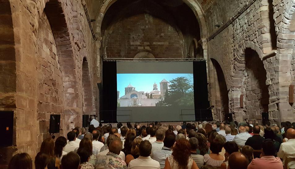 Èxit d'assistència a l'estrena del documental sobre el reusenc Eduard Toda