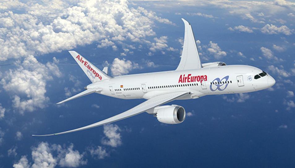 Imatge d'arxiu d'un avió de la companyia.