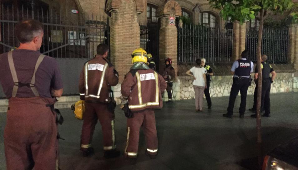 Falsa alarma d'incendi a les Teresianes de Tarragona