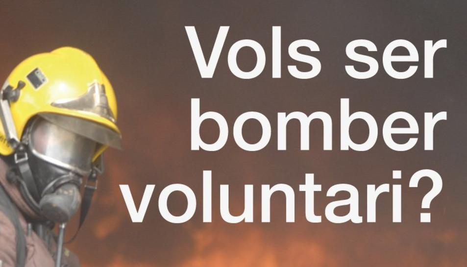 Cartell de la campanya per incorporar nous bombers.