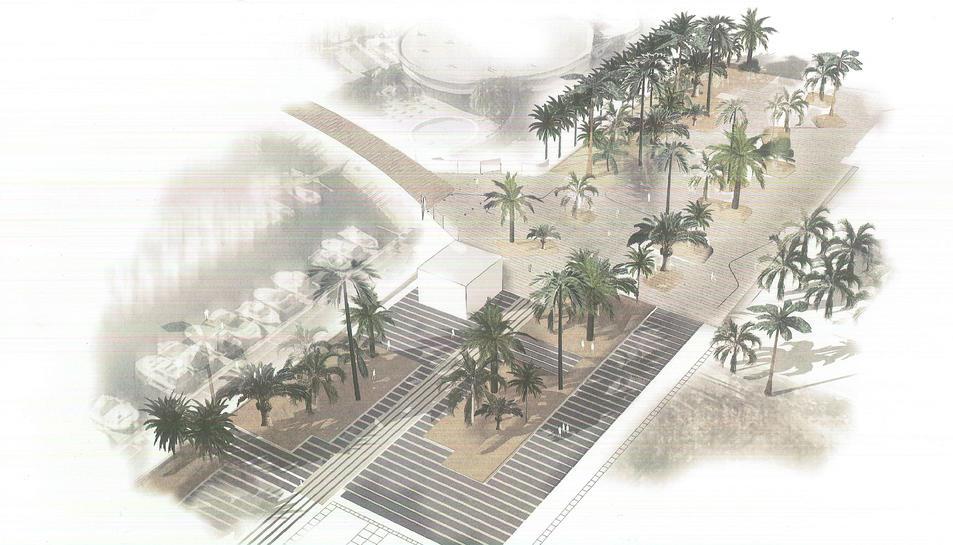 Imatge del projecte del nou port esportiu de Salou