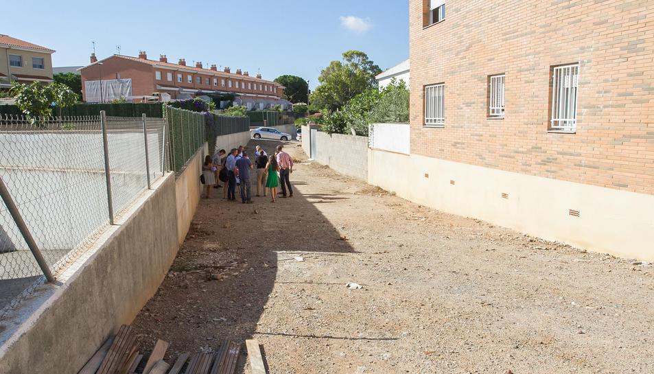 S'urbanitzarà un tram de l'antic barranc de l'Escorial al sud de la ciutat