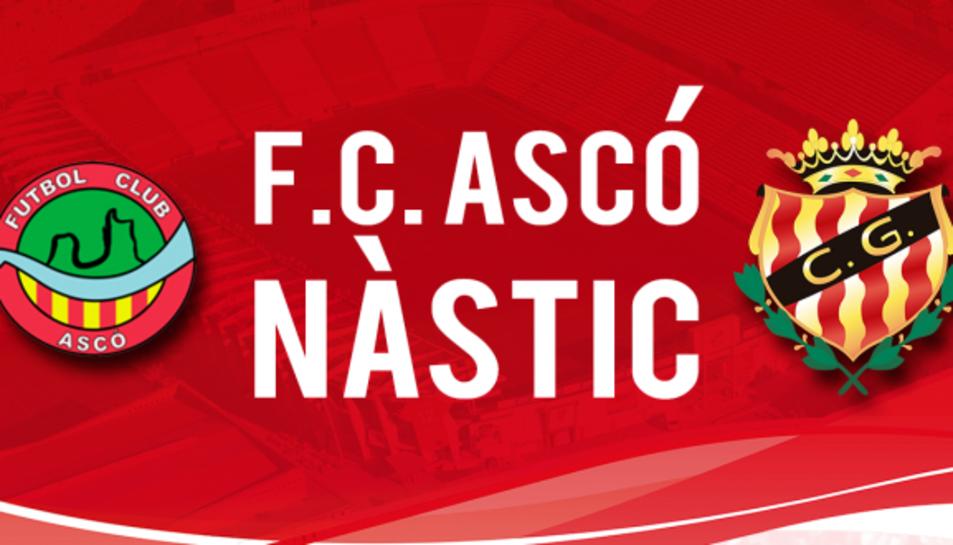 Amistós del Nàstic contra el FC Ascó aquest dimecres