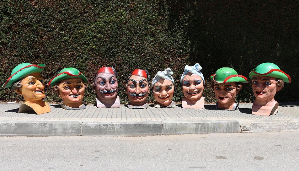 L'Espluga estrenarà quatre rèpliques dels capgrossos per la Festa Major