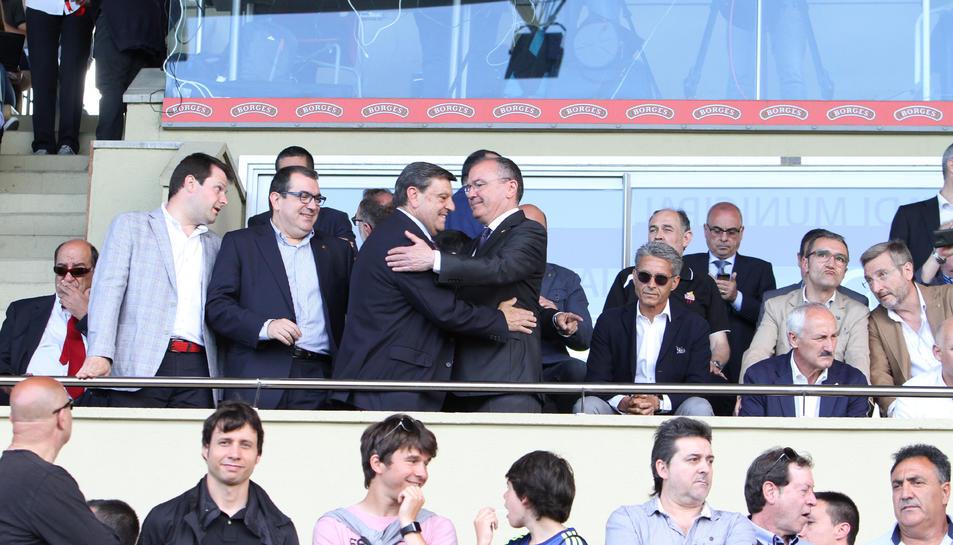 El CF Reus i l'Ajuntament arriben a un acord per resoldre el deute de l'Estadi