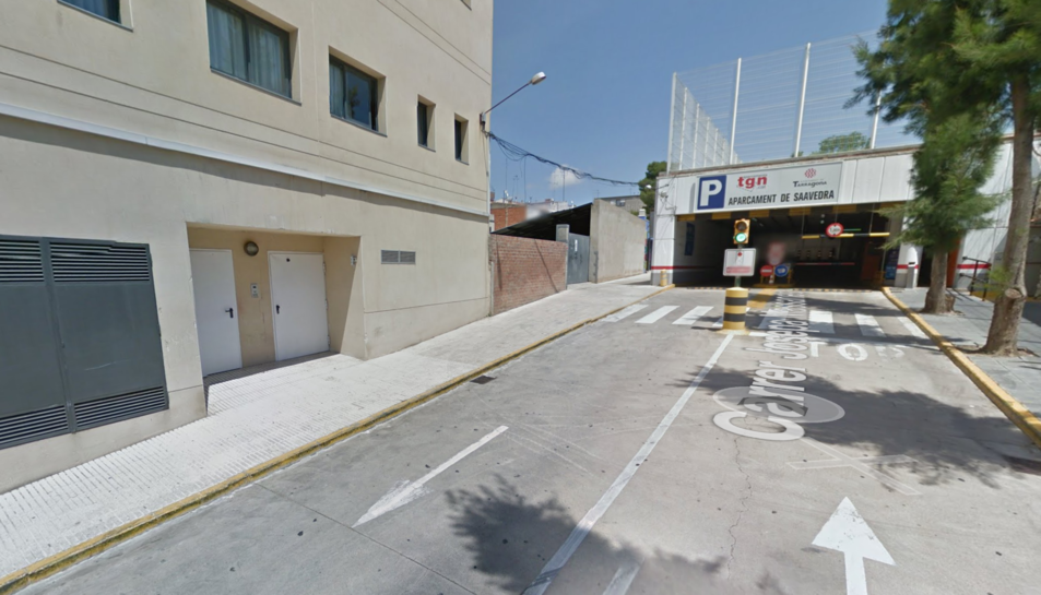Un dels aparcaments és el de Savedra.