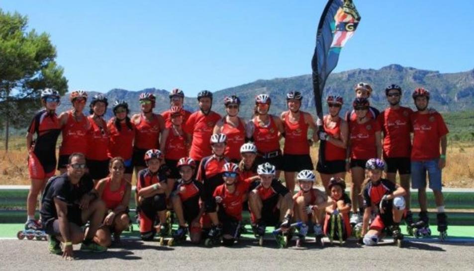 El Nàstic aconsegueix cinc medalles a les 24 hores Roller Tour de Calafat