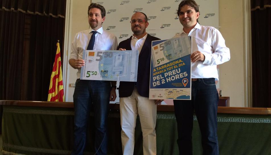 Preu fixat de 5,5 euros als Aparcaments Municipals a partir de les dues hores i mitja