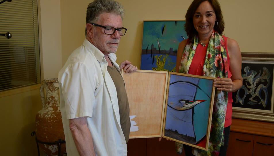 Rosselló dóna 'L'ocell' a la ciutat de Tarragona