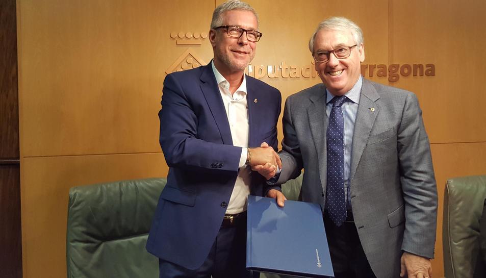 La Diputació remodelarà l'Estadi d'atletisme de Campclar pels Jocs Mediterranis