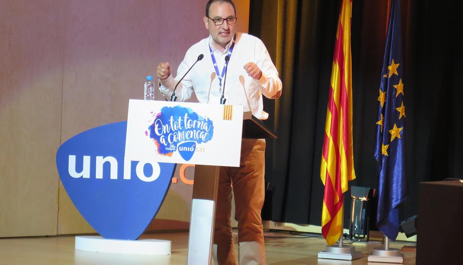 Imatge d'arxiu del secretari General d'Unió, Ramon Espadaler.