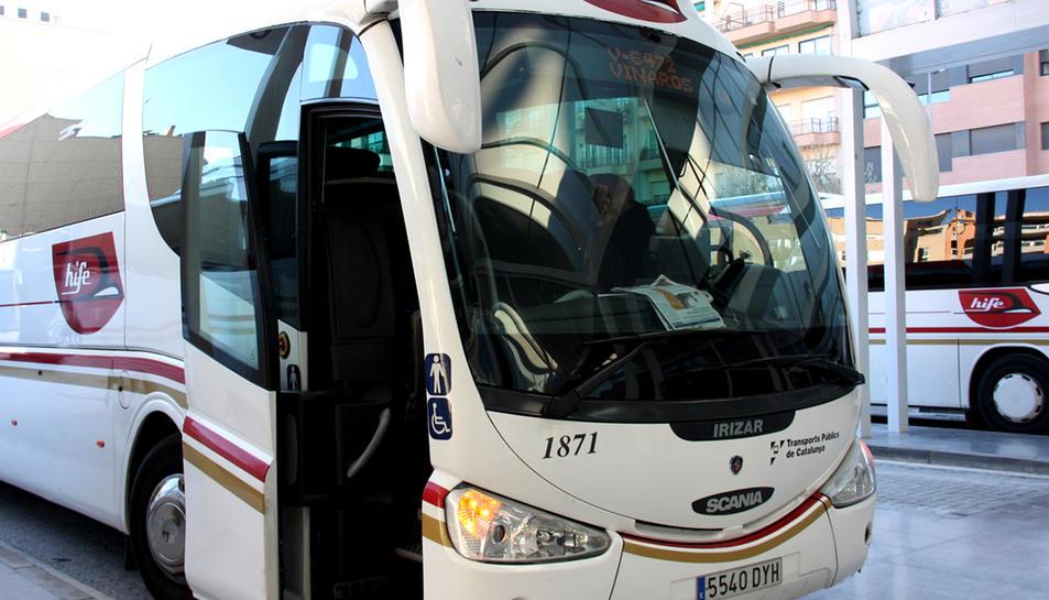 Dotze noves freqüències reforçaran els serveis de bus de les Terres de l'Ebre, a partir d'aquest dilluns