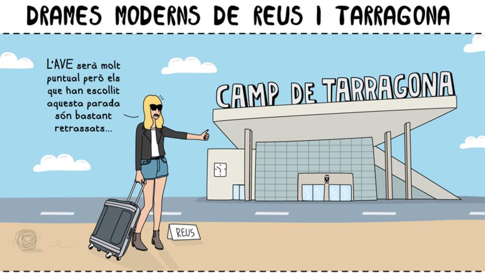 La Moderna de Pueblo visita Tarragona amb Drames Moderns entre Reus i Tarragona