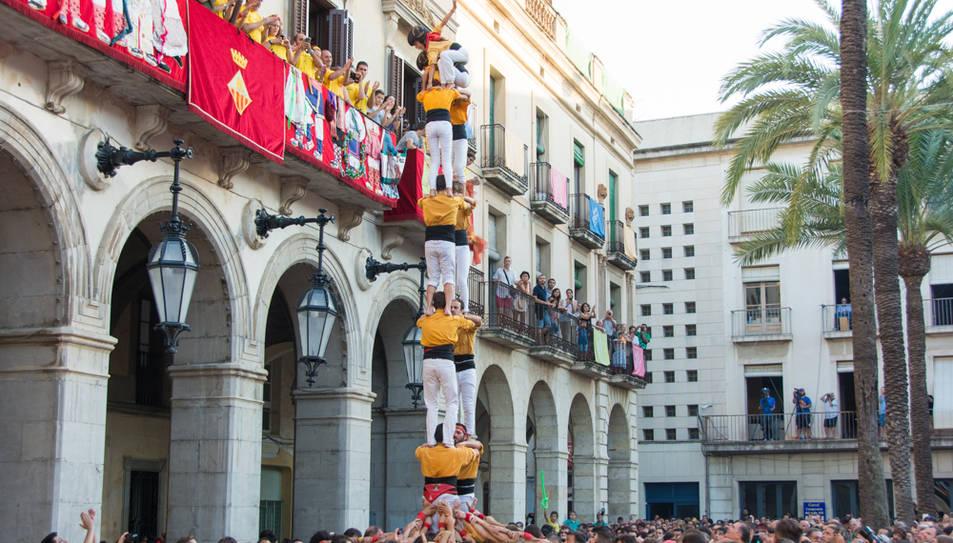 2de7 dels Bordegassos de Vilanova a la diada de Vilanova.