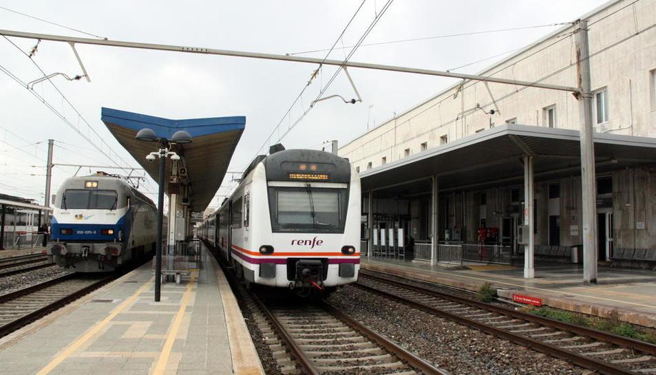 Comença la primera fase de les obres de millora de l'estació de trens