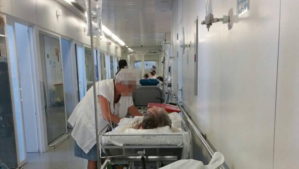 Denuncien  elevades temperatures a les urgències de l'Hospital Sant Joan