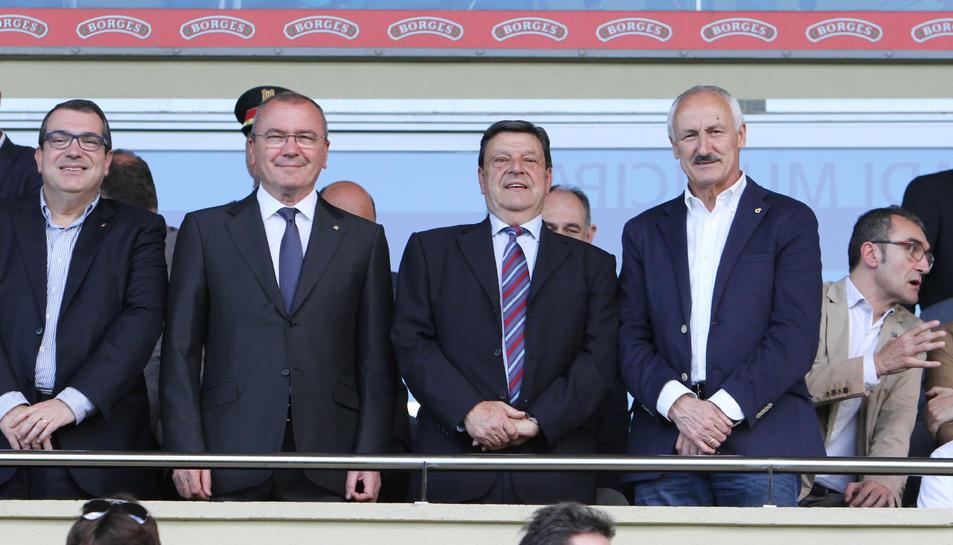 El CF Reus pagarà 170.000 euros l'any per l'ús de l'Estadi amb el nou conveni