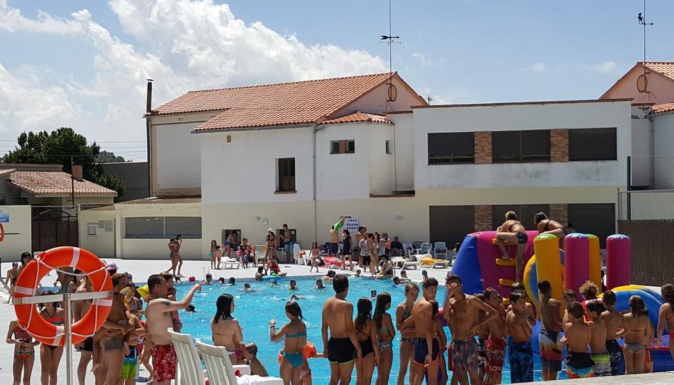 Sarral inaugura la nova piscina municipal