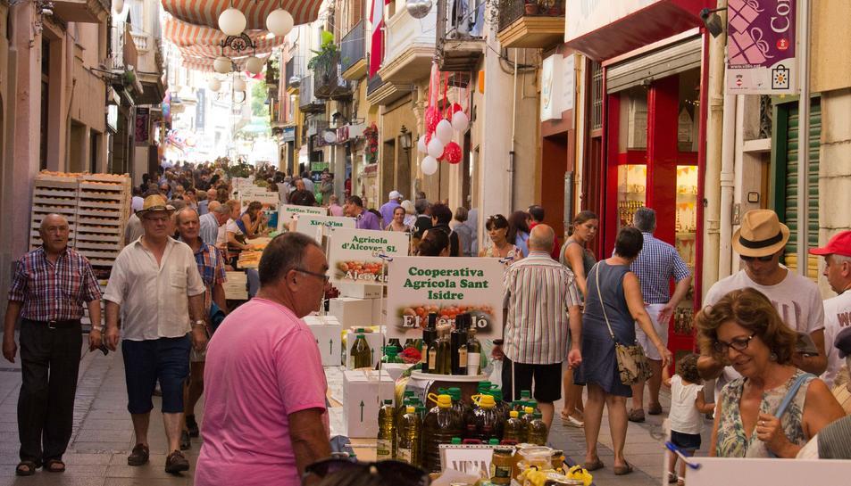 Valls dóna la benvinguda a la 62ª edició de la Firagost