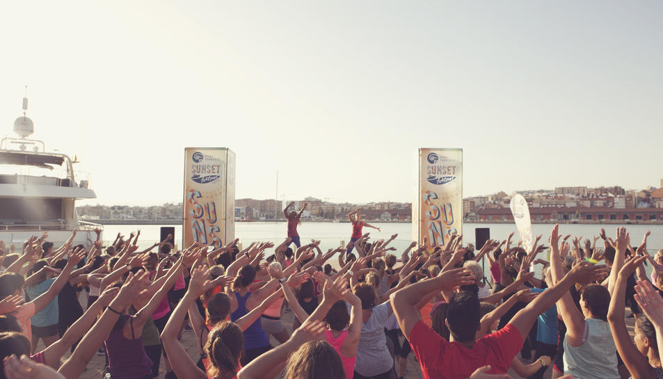 Master Class de Zumba al Port Tarraco Sunset Festival