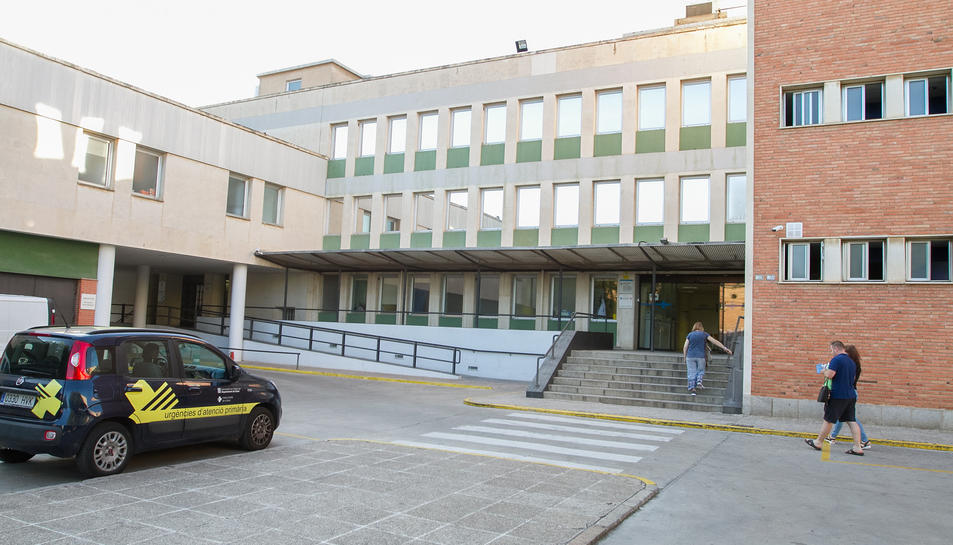 El CAP Sant Pere és un dels centres que rep treballadors de la borsa per substitucions i baixes.